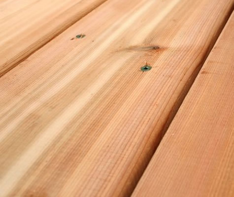 Deck boards cedar decking for Smooth hardwood decking boards