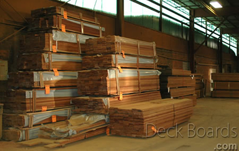 Deck boards supply