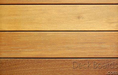 Garapa deck boards