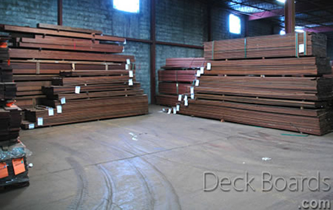 Ipe deck boards